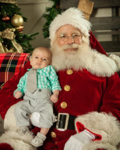 Santa Jim with Baby