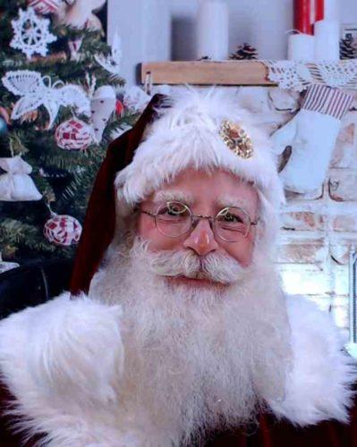 White Horse Santa Jim Beidle